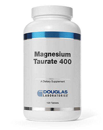 Douglas Laboratories® - Magnesium Taurate 400 - Supports Normal Heart Function and Bone formation* - 120 Tablets (Tablets Heart Support 120)