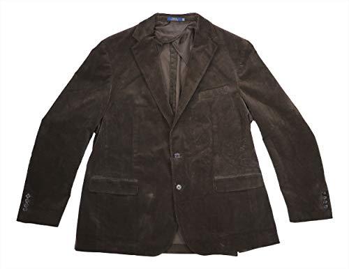 (RALPH LAUREN Slim Fit Ultraflex 2-Button Sport Coat Blazer (Dark Navy, 38 Short))