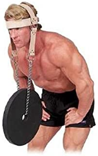 0009a045ecc83 Amazon.com : Harbinger Padded Leather Head Harness : Exercise Straps ...