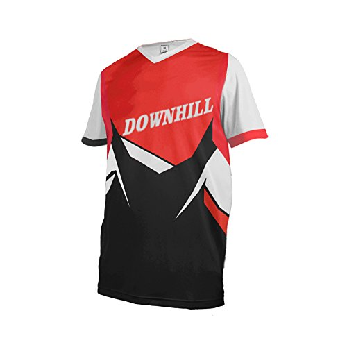 Price comparison product image Uglyfrog 11 Designs Downhill Jersey MTB Jersey Mens Bike Wear Short Sleeve Tops Rage Cycling / Motocross Clothes MTB Shirt Summer Style