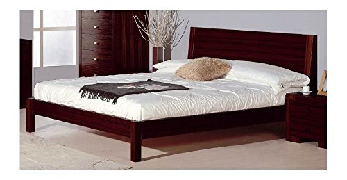 Beverly Hills Furniture Alpha Bed in Wenge Finish (King)
