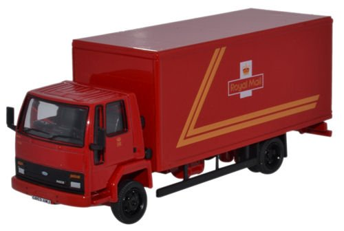 [Oxford Diecast 1:76 Scale Ford Cargo Box Van Royal Mail] (Van Royal Mail)