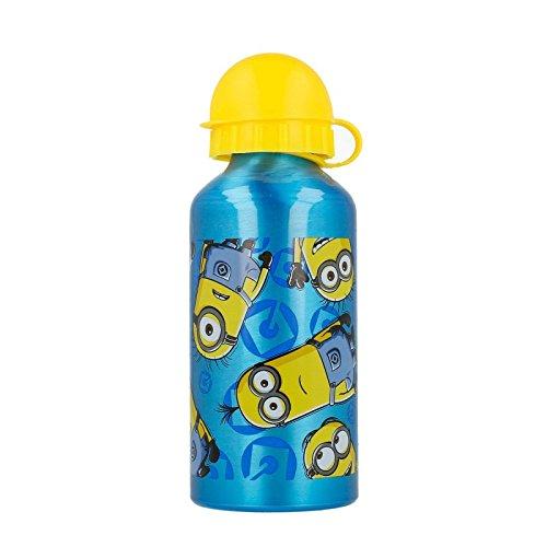 Minions, Gru Mi Villano Favorito Botella cantimplora Aluminio pequeña 400 ML (STOR 89834)