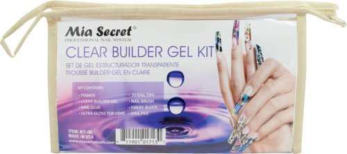 Mia Secret Clear Builder Gel Kit by Unknown