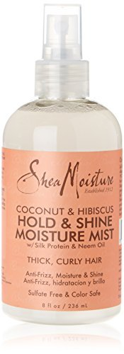 Shea Moisture Coconut and Hibiscus Hold/ Shine Moisture Mist 236 ml by Shea Moisture