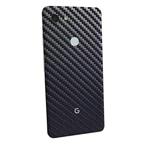 7 Layer Skinz Custom Skin Wrap Compatible with Google Pixel 3 (Gunmetal Carbon Fiber)