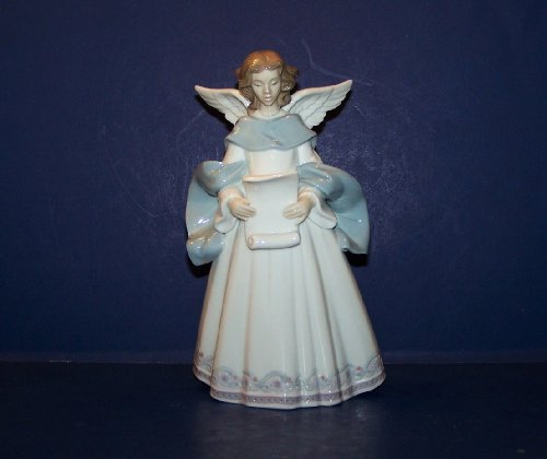 Lladro Rejoice Angel 6321 Tree Topper Retired 1997 by Lladro