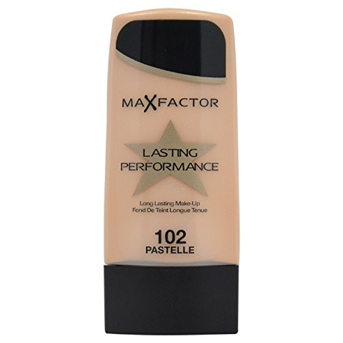 Max Factor Long Lasting Performance Foundation, No.102 Pastelle, 1.1 Ounce