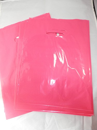 50 -9x12 Glossy Pink Plastic Merchandise Bags by Generic
