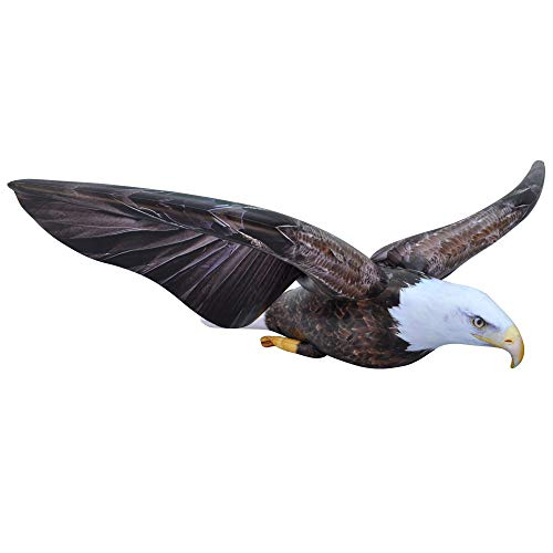 Jet Creations Inflatable American Bald Eagle Stuffed Animal - soar on Wings, Ideal for Safari or Wildlife Theme Parties, Favors, and Decorations, Size 38 inch, - Animals Bald Eagle
