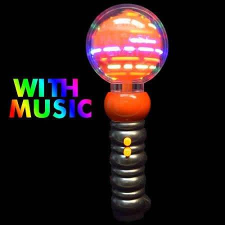 blinkee Light Up Musical Spinning Pumpkin Wand