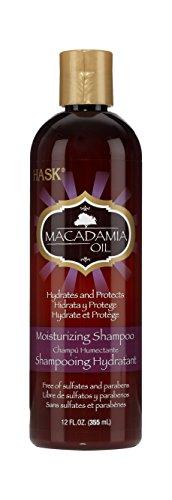 - Hask Macadamia Oil Moisturizing Shampoo, 12 Ounce