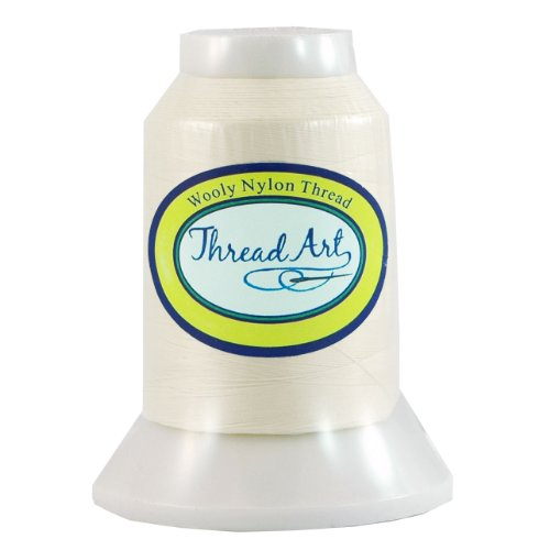 Threadart Wooly Nylon Thread - 1000m Spools - Color 9101-50 Colors Available