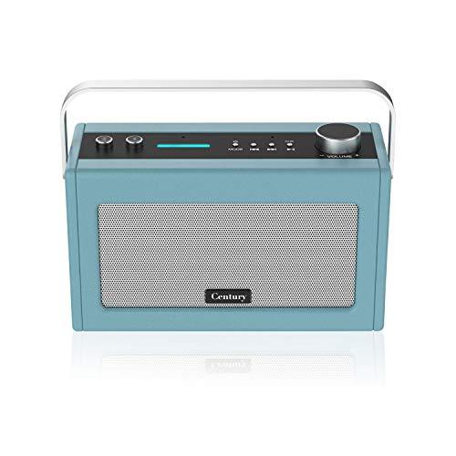 Internet Radio, Smart WiFi Speaker with Alexa, Bluetooth Wireless Function, Smart Home Control Device, Multi-Room, News and Sport Updates (Stone Blue) (Internet Radio Receiver Wifi)