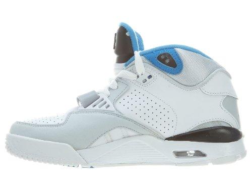 Nike - Zapatillas de deporte de según descripción para hombre BLANC/GRIS/BLEU Blanco - blanco