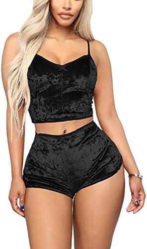Womens Lapel Velvet Two Piece Top Shirt Coat Loose Pants Sleepwear Outwear Soft