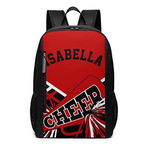 Funny Cheerleader Outfit Dark Red Laptop Backpack Business Travel Computer Bags School Bookbag Notebook for Women Men ()