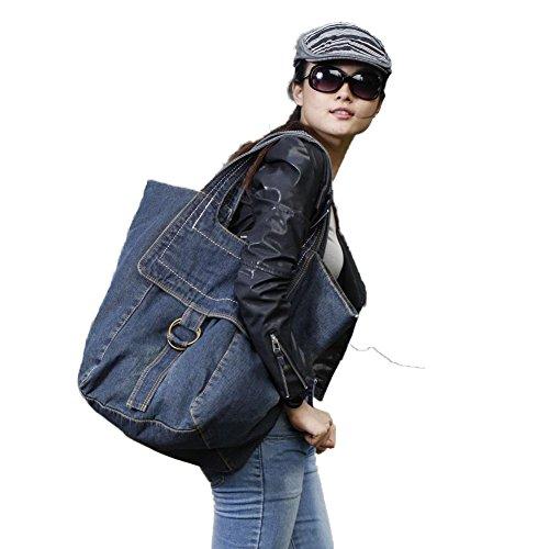 grande sac capacité bandoulière provisions d'alpinisme de Bleu voyage des sac de à femmes Sac à Sac Owarder F64UqRx