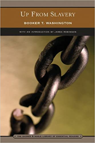 Image result for up from slavery chain on cover