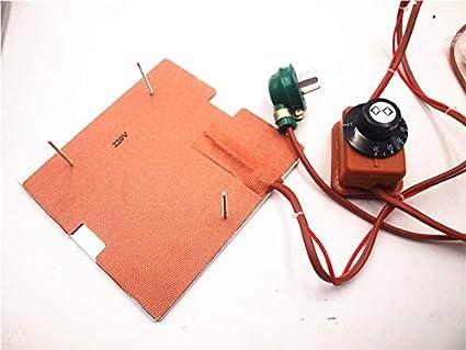 Amazon.com: Heasen 120 V/220 V 250 W calentador de silicona ...