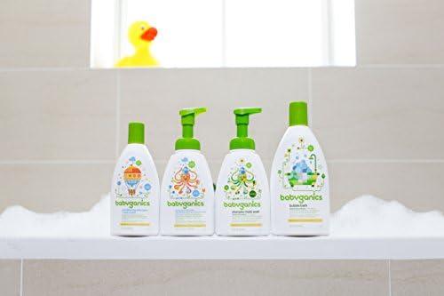 41bEnynuJdL. AC - Babyganics Baby Shampoo + Body Wash Pump Bottle, Fragrance Free, Packaging May Vary,16 Fl Oz (Pack Of 3)