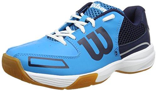 Wilson WRS322350E050, Zapatillas de Tenis Unisex Adulto, Azul (Hawaiian Ocean / Navy / White), 38 1/3 EU