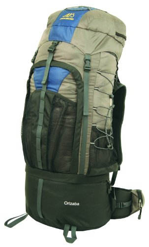 ALPS Mountaineering Orizaba Internal Pack, Clay, 4500 Cubic Inches, Outdoor Stuffs