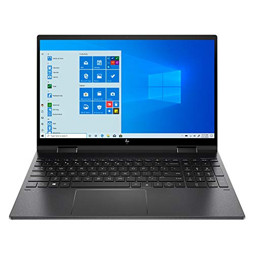 2020 Newest HP Envy x360 15.6 FHD 1080P Touchscreen 2-in-1 Laptop, AMD 6 Cores Ryzen 5 4500U (Beats i7-8550U), 8GB RAM, 256GB SSD, Backlit KB, Win10 + NexiGo Wireless Mouse Bundle