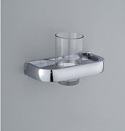 XBR Haga gárgaras sostenedor de taza, taza baño cepillo de dientes titular, baño de