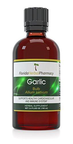 Florida Herbal Pharmacy, Garlic (Allium sativum) Tincture / Extract 3.4 oz. (100 ml) Pack of 3 by Florida Herbal Pharmacy