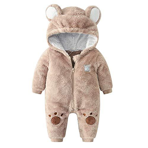 M_RAC Baby Girls Hooded Pajamas Boys Onesie Outfits Bear Halloween Chirstmas Costume