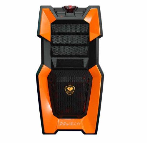 Price comparison product image Cougar ATX/mATX Gamer Tower Case, Orange CHALLENGER-O