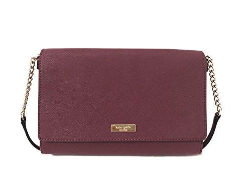 Kate Spade New York Tilden Place Alek Leather Crossbody Handbag (Rioja)