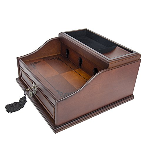 wood-finish-mahogany-valet-charging-station-organizer-for-iphone-samsung-and-other-smart-phones-elor