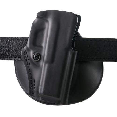 Safariland 5198 Open Top, Paddle & Belt Slide Combo, S&W M&P Shield, Plain Black, Right Hand ()