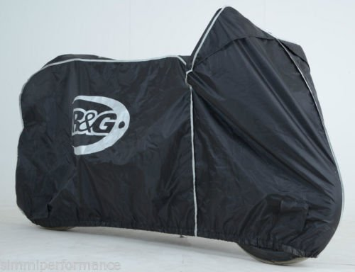 R/&G SUPERBIKE OUTDOOR BIKE COVER Waterproof Motorcycle Cover Naked Sports Bike