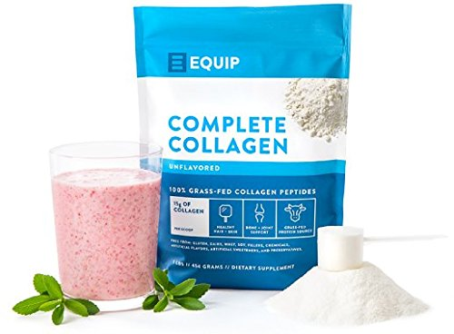 100% Grass Fed Collagen Peptides 16oz Pure Bovine Collagen and Gelatin Unflavored | Zero Carb Protein and Keto Protein Source