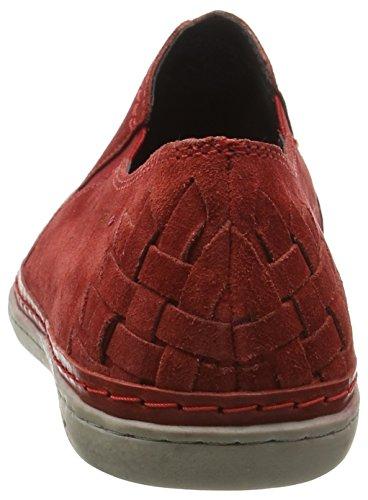 Marc Shoes Dan Herren Slipper Rot (red-combi 651)