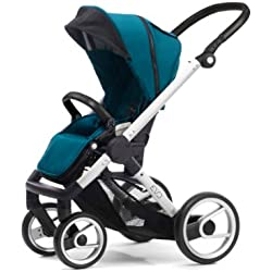 Mutsy Evo Stroller with Silver Frame, Pacific