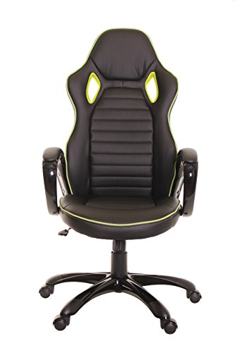 41bEqh7HLYL - TimeOffice-Ergonomic-PU-Leather-High-Back-Bucket-Seat-Black-Comfort-Executive-Office-Desk-Chair-With-Racing-Style-Office-Swivel-Chair-Best-Used-For-Computer-Desk-Office-Gaming