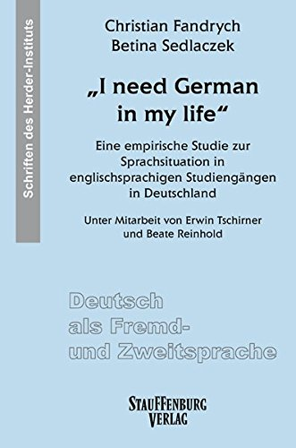 """""""I need German in my life"""