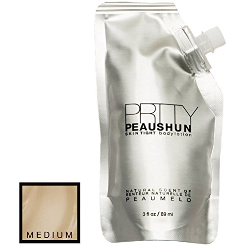 (PRTTY PEAUSHUN Skin Tight Body Lotion - 3 oz Travel Size (Medium))