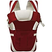 Ineffable Baby Carrier Comfortable Support with Belt Baby Carrier(Maroon, Front Carry Facing Out)