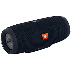 JBL Charge 3 Powerful 20W IPX7 Waterproof Portable Bluetooth Speaker with 20 Hours Playtime & Built-in 6000 mAh Powerbank (Black)