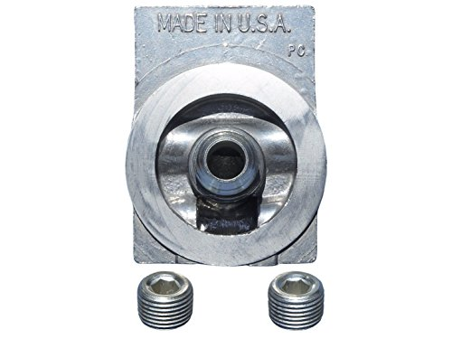 Oil Filter Housing Mount - NAPA Gold 4770 / WIX 24770 Filter Mounting Base, Pack of 1