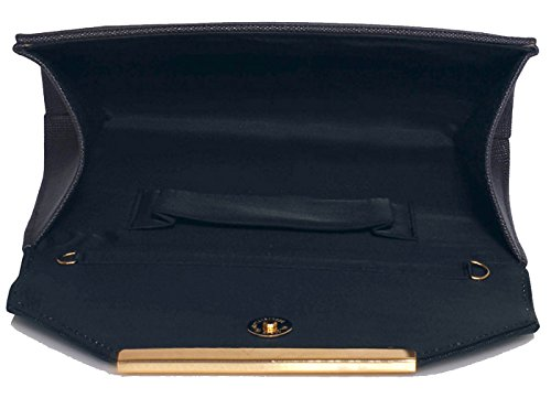 Stunning Clutch Flap UK SAVE 50 purse Navy Large FREE DELIVERY rvqHrn4F