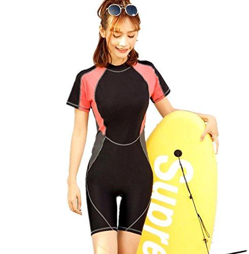 Piece donne da Surf Professione costume da Sport Large Pantaloncini Costumi Size Le Beach maniche bagno One Movimento bagno corte xxl YONGYI con Zwxpv