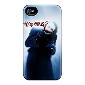New Arrival Joker Why So Serious YbG2203duLO Case Cover/ 4/4s Iphone Case