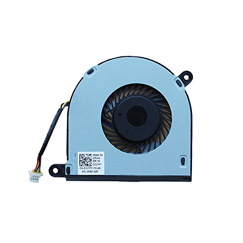 HK-part Replacement Fan for Dell Inspiron 13 5368 5000 Inspiron 15 7579 7569 series Cpu Cooling Fan 4-Wire 4-Pin DP/N CN-031TPT by sywpart