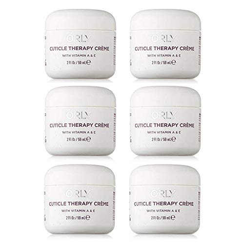 Orly Cuticle Therapy Creme With Vitamin A & E 2 oz (6 Packs) by Orly